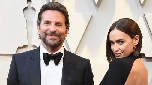 У розкішному вбранні та з усмішкою: Бредлі Купер та Ірина Шейк засвітились на Оскар-2019