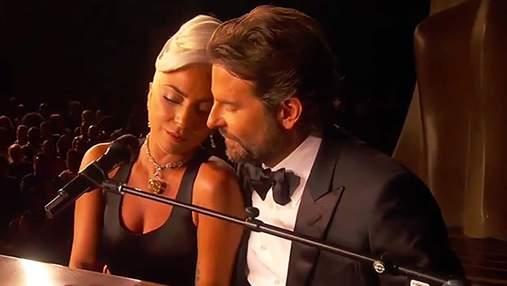 Леді Гага та Бредлі Купер зірвали овації чуттєвим виступом на Оскарі-2019