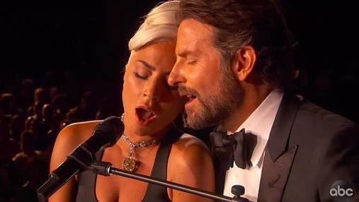 """Вони одружаться: в мережі обговорюють """"хімію"""" між Леді Гагою і Бредлі Купером під час виступу"""