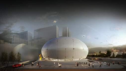 Музей робототехники построят роботы: фото футуристического здания
