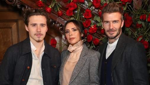 Дэвид и Виктория Бекхэмы трогательно поздравили сына Бруклина с 20-летием