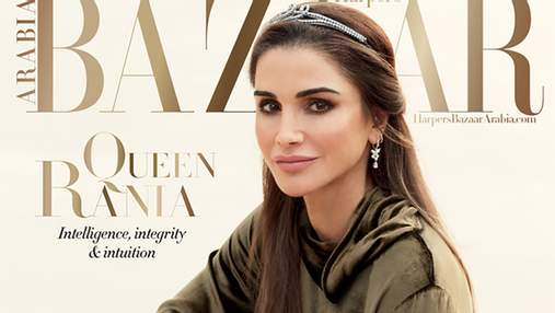 Королева Ранія прикрасила обкладинку Harper's Bazaar: ефектні фото