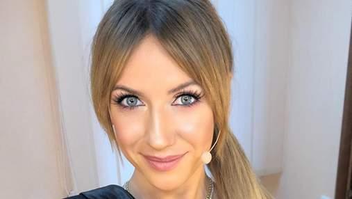 С розовой помадой и в кожанке: как Леся Никитюк выглядела в 17 лет