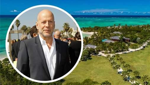 Брюс Вілліс продає маєток в Карибському морі за рекордну суму: фото дому за 33 мільйони доларів