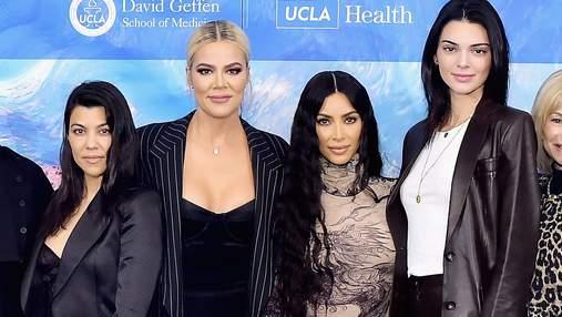 Американские девы Кардашян открыли медицинский центр имени их покойного отца