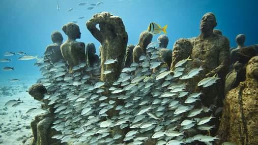 Як виглядає Підводний музей у Мексиці: захопливі фото