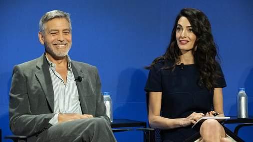Джордж и Амаль Клуни презентовали совместный проект