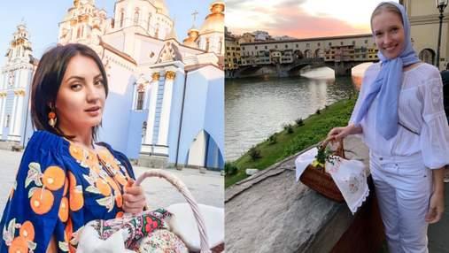 Осадчая, Цибульская и Сумская: как звезды отмечают праздник Пасхи