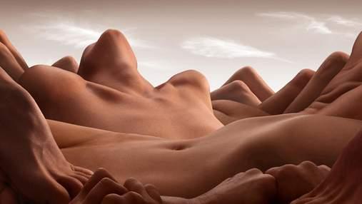 Тіла, схожі на пустелю: естетичний фотопроект ню