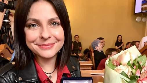 """Оксана Муха отримала звання """"Заслуженої артистки України"""""""