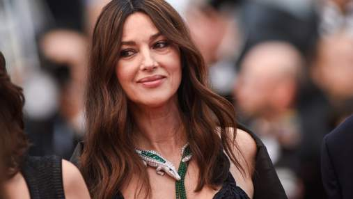 54-річна Моніка Беллуччі приголомшила фантастичним виходом на Каннському кінофестивалі