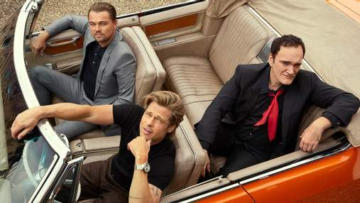 Трио красавчиков: Брэд Питт, Леонардо Ди Каприо и Квентин Тарантино снялись для глянца