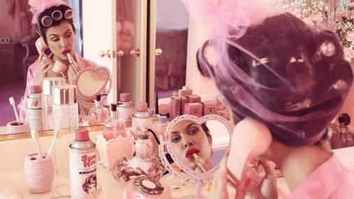 Обольстительная Кортни Кардашян показала роскошные формы в съемке для Paper Magazine: фото