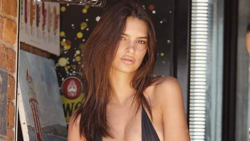 Эмили Ратаковски снялась в рекламе собственного бельевого бренда: горячие фото