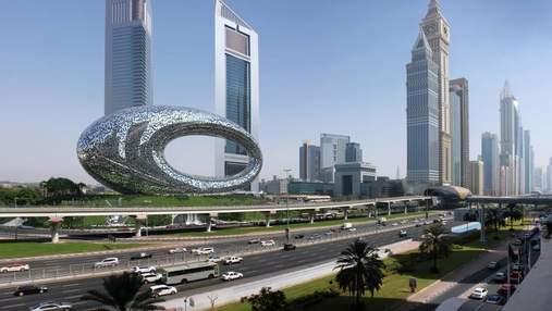 Музей майбутнього вже сьогодні: чим здивує футуристична споруда в Дубаї