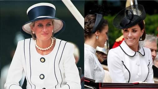 Кейт Міддлтон одягнула сукню в стилі принцеси Діани: фото