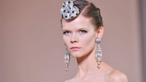 Украинская модель Ирина Кравченко приняла участие в показе новой коллекции Giorgio Armani: фото