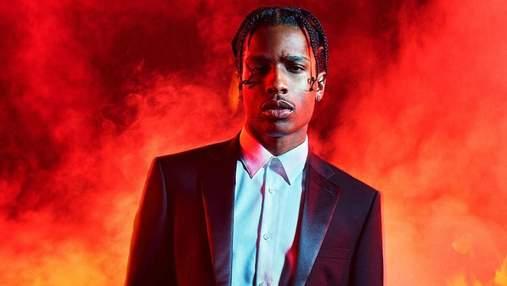 Американського репера A$AP Rocky затримали в Швеції за тиждень до виступу в Україні