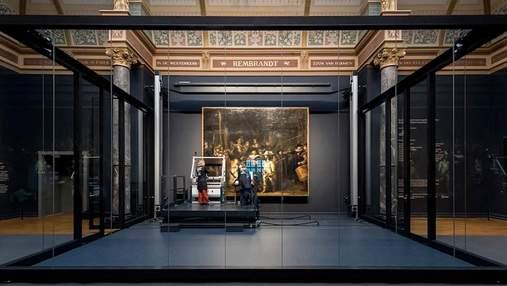 В Амстердаме восстанавливают полотно Рембрандта: реставрацию транслируют онлайн