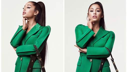 Ариана Гранде снялась в рекламе модного бренда Givenchy