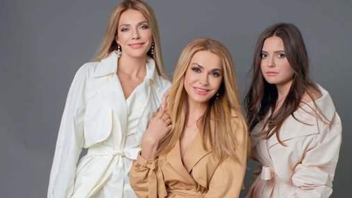 Ольга Сумская снялась с взрослыми дочками в фотосессии для глянца: новые эффектные снимки