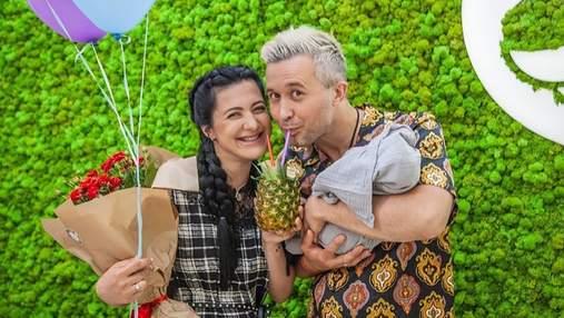 Сергій Бабкін поділився ніжним відео з новонародженим сином