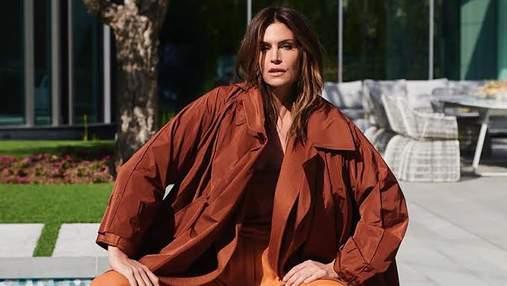 Синди Кроуфорд стала звездой турецкого глянца Harper's Bazaar: стильные фото