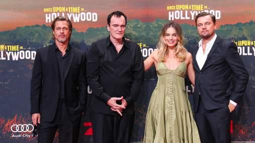 """Гастролі продовжуються: акторський склад """"Одного разу в Голлівуді"""" відвідав прем'єру в Берліні"""