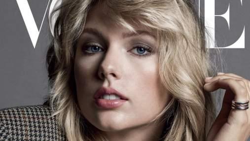 Главная обложка года: Тейлор Свифт появилась на страницах сентябрьского Vogue