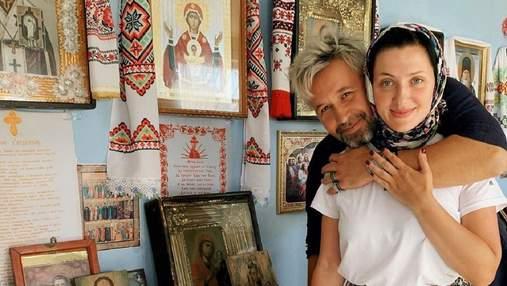 Сергей Бабкин с женой покрестили 2-месячного сына: фото