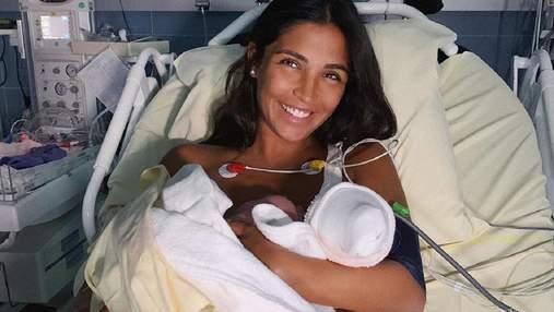 Родила девочку за 15 минут, – Санта Димопулос рассказала о родах в Монако