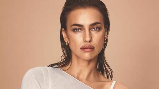 Нежность и сексуальность: Ирина Шейк снялась в новой рекламе для Intimissimi