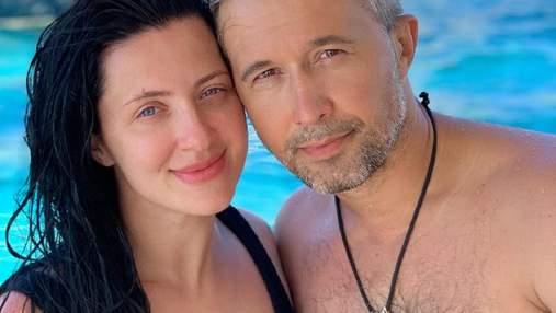 Сергей Бабкин показал свое первое фото с женой Снежаной