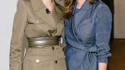 Супермодели Синди Кроуфорд и ее дочь Кайя Гербер осуществили совместный выход: фото