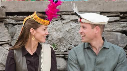 Тропами принцессы Дианы: герцоги Кембриджские встретились с жителями Гималаев
