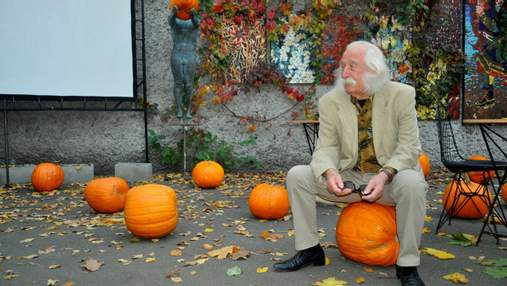 Гениальный украинский художник Иван Марчук представил последнюю выставку в Киеве: фото