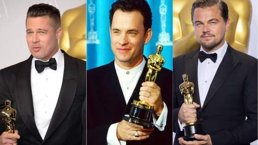 Ді Капріо, Бред Пітт, Том Генкс та інші: відомі кіностудії висунули кандидатів на премію Оскар