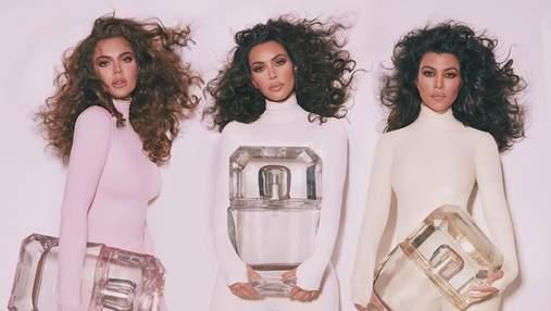 Сестри Кардашян випустили парфуми зі своїми улюбленими ароматами