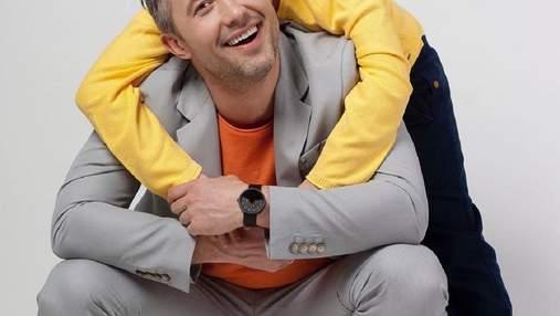 Сергей Бабкин трогательно поздравил сына Артура с 13-летием: фото