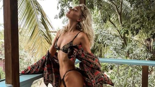 """""""Ангела"""" Victoria's Secret раскритиковали за излишнюю худобу: пикантные фото"""