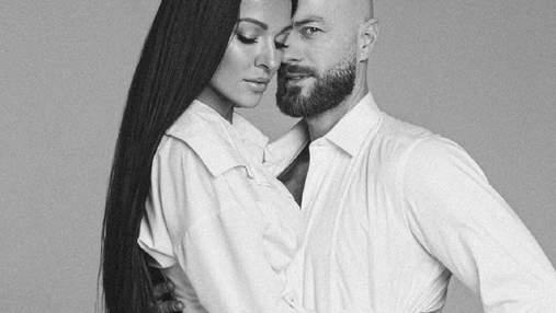Влад Яма снялся в пылкой фотосессии с женой Лилианой