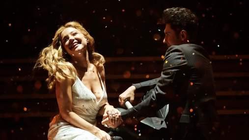 Тина Кароль и Дан Балан покорили сеть романтическим выступлением на M1 Music Awards: видео