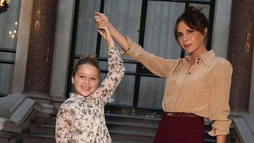 Девід та Вікторія Бекхем похрестили молодших дітей: перші фото з церемонії