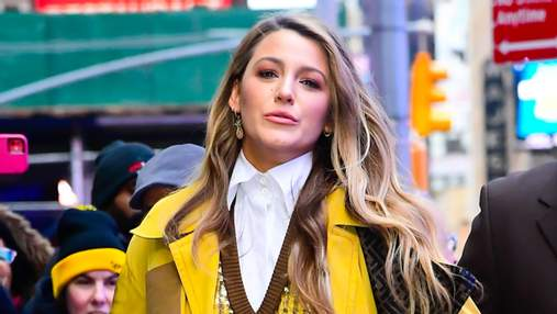 Ікона стилю Блейк Лайвлі на вулицях Нью-Йорка демонструє тренди сезону