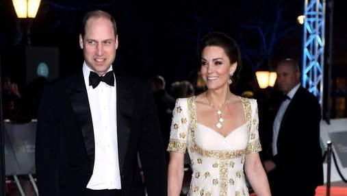 У сукні з вишивкою: Кейт Міддлтон вразила виходом на церемонії BAFTA
