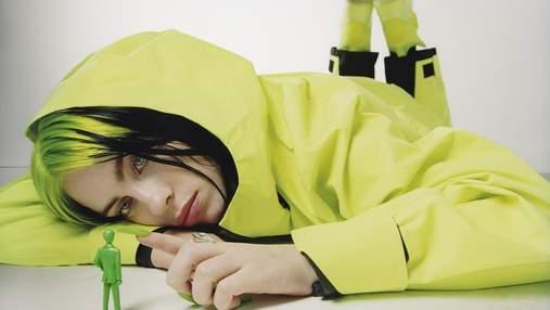 Билли Айлиш позировала для обложки американского Vogue: дерзкая съемка