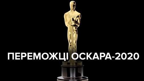 Переможці премії Оскар-2020: перелік