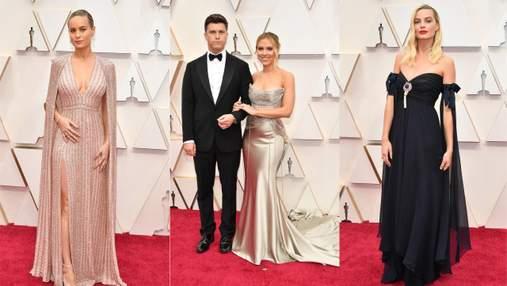 Оскар-2020: розкішні фото зірок з червоної доріжки