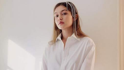 Джиджи Хадид снялась для британского Vogue: стильные образы модели