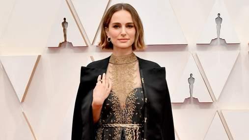 Наталі Портман натякнула на дискримінацію жінок-режисерів промовистим вбранням на Оскарі-2020
